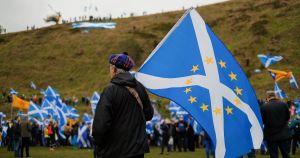 manifestación contra el Brexit en Edimburgo