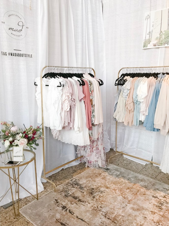 Mad About Style Pop Up Booth