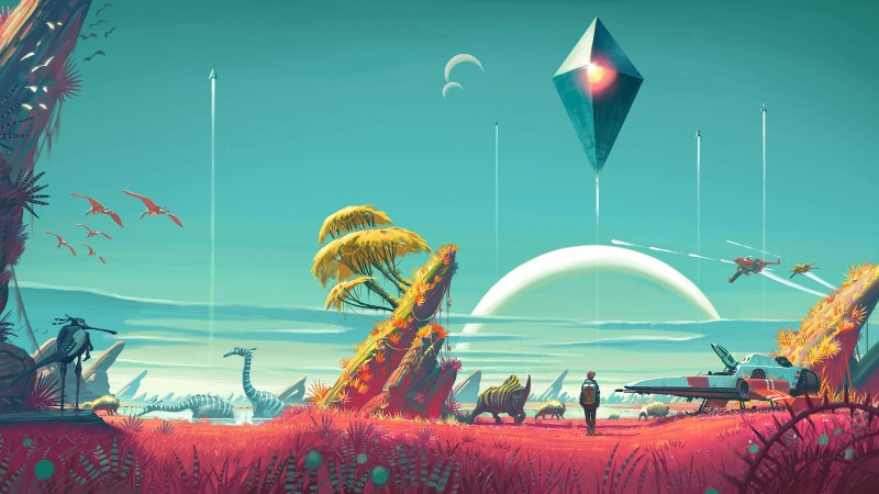 Aperçu de l'univers riche et coloré de No Man's Sky.