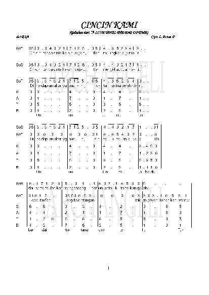 Cincin Kaweng Lirik : cincin, kaweng, lirik, Chord, Cincin, Kaweng