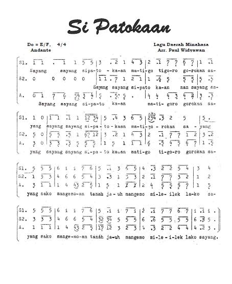 Lirik Lagu Si Patokaan : lirik, patokaan, Angka, Patokaan, Koleksi
