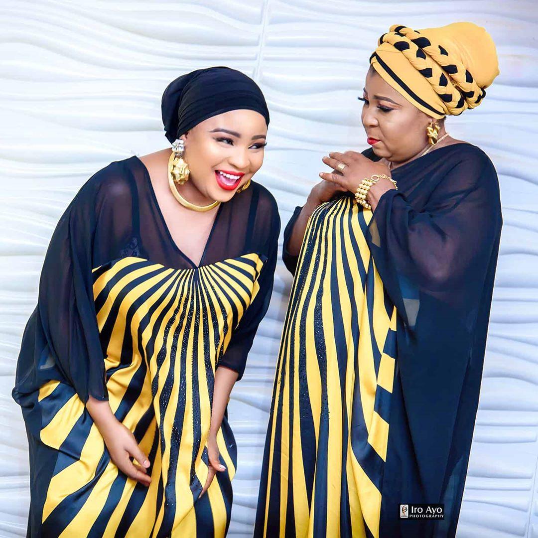 Bimbo Afolayan and mum
