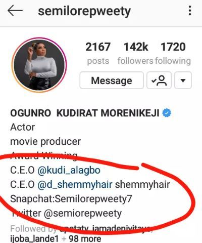 What Yoruba Actress, Kudirat Morenikeji Did Before Iyabo Ojo Helped Her Get Into Yoruba Movie Industry
