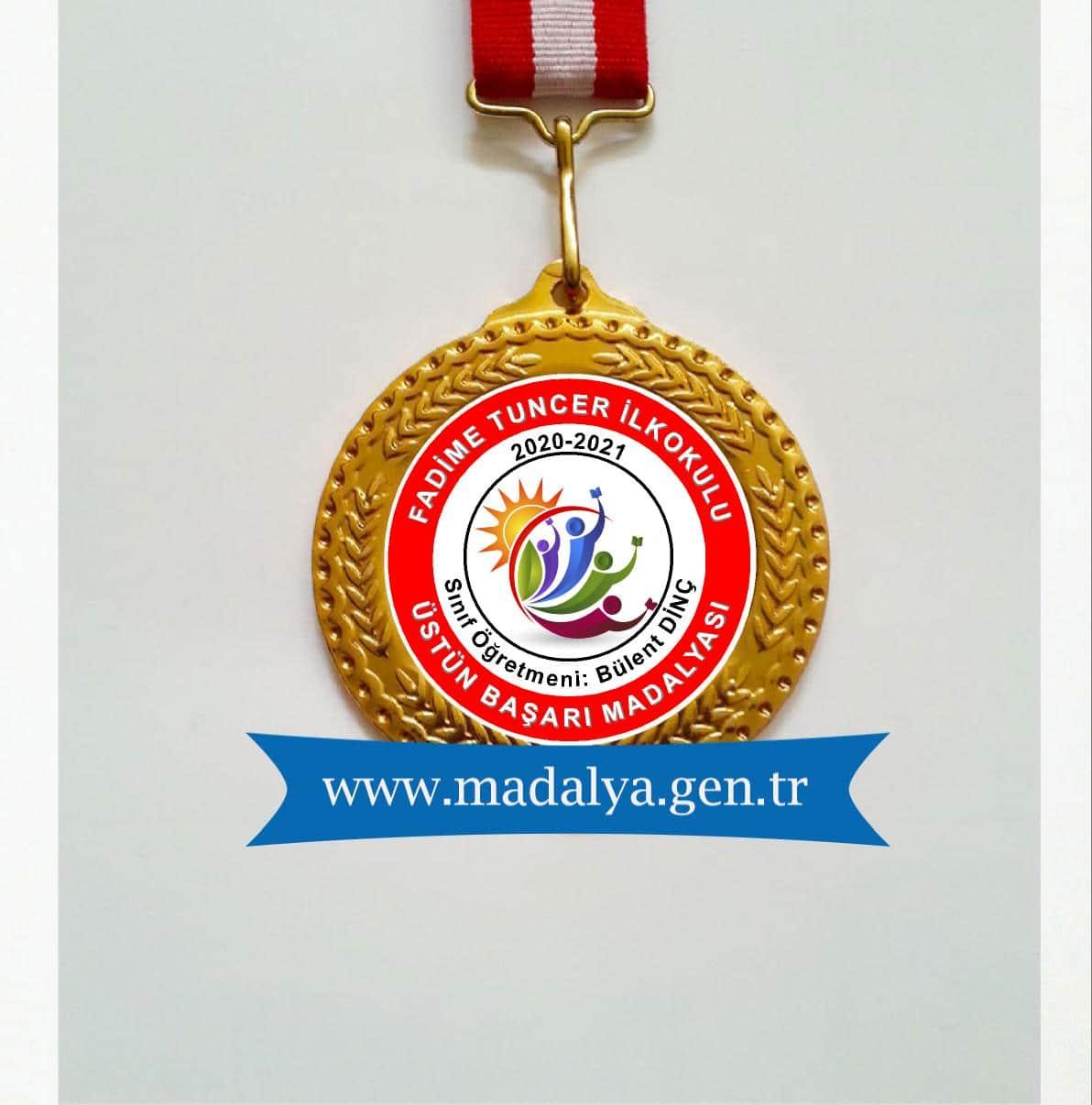 üstün başarı madalya ödülü
