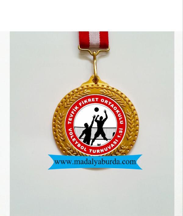 voleybol turnuva madalyası