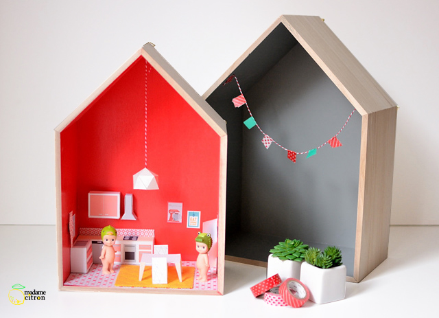 meuble miniature pour maison de poupee