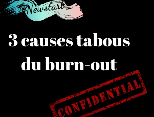 Classé confidentiel : 3 causes tabous du burn-out