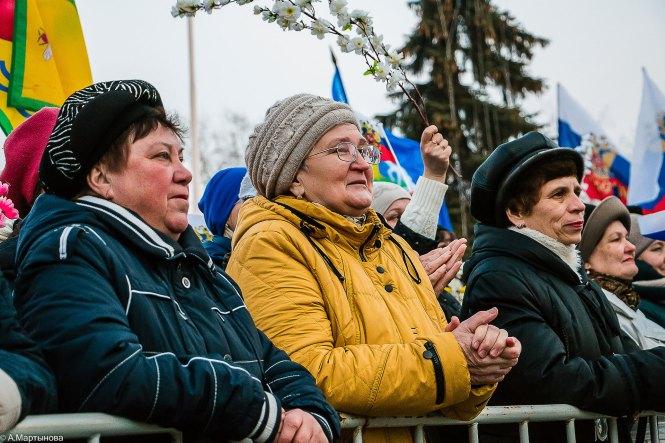 крымская весна митинг тамбов 2017 публика люди народ