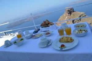 Astra Suites Breakfast