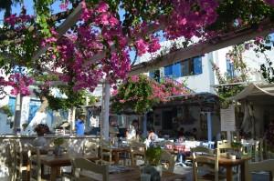 ミコノス島レストラン