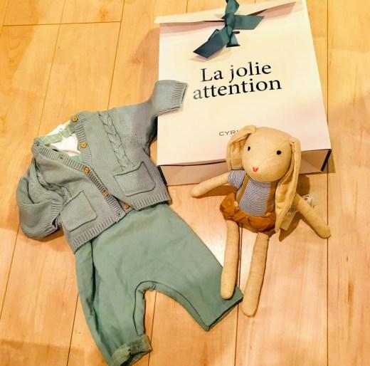 フランスブランドCyrillusの出産祝い