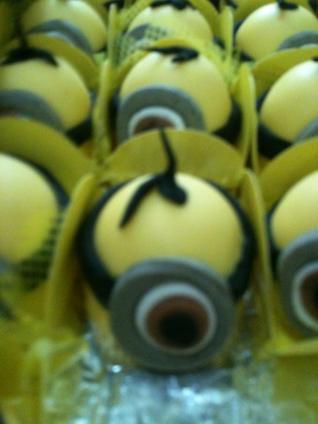 festa minions, bombom do Vinicius2