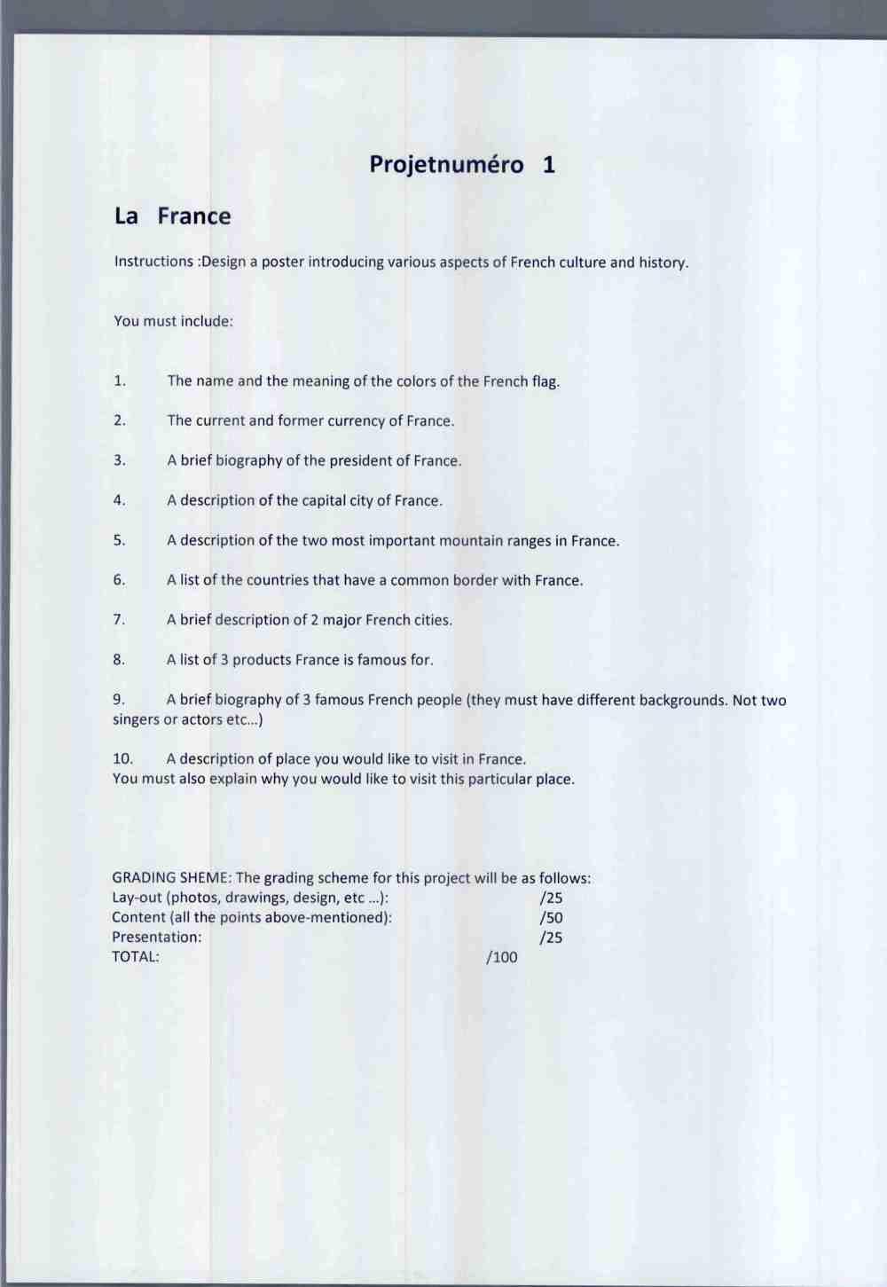 medium resolution of 6th Grade French   MadameBarrilleaux
