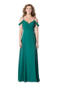 Bari Jay 1625 Off-the-Shoulder Bridesmaid Dress ...