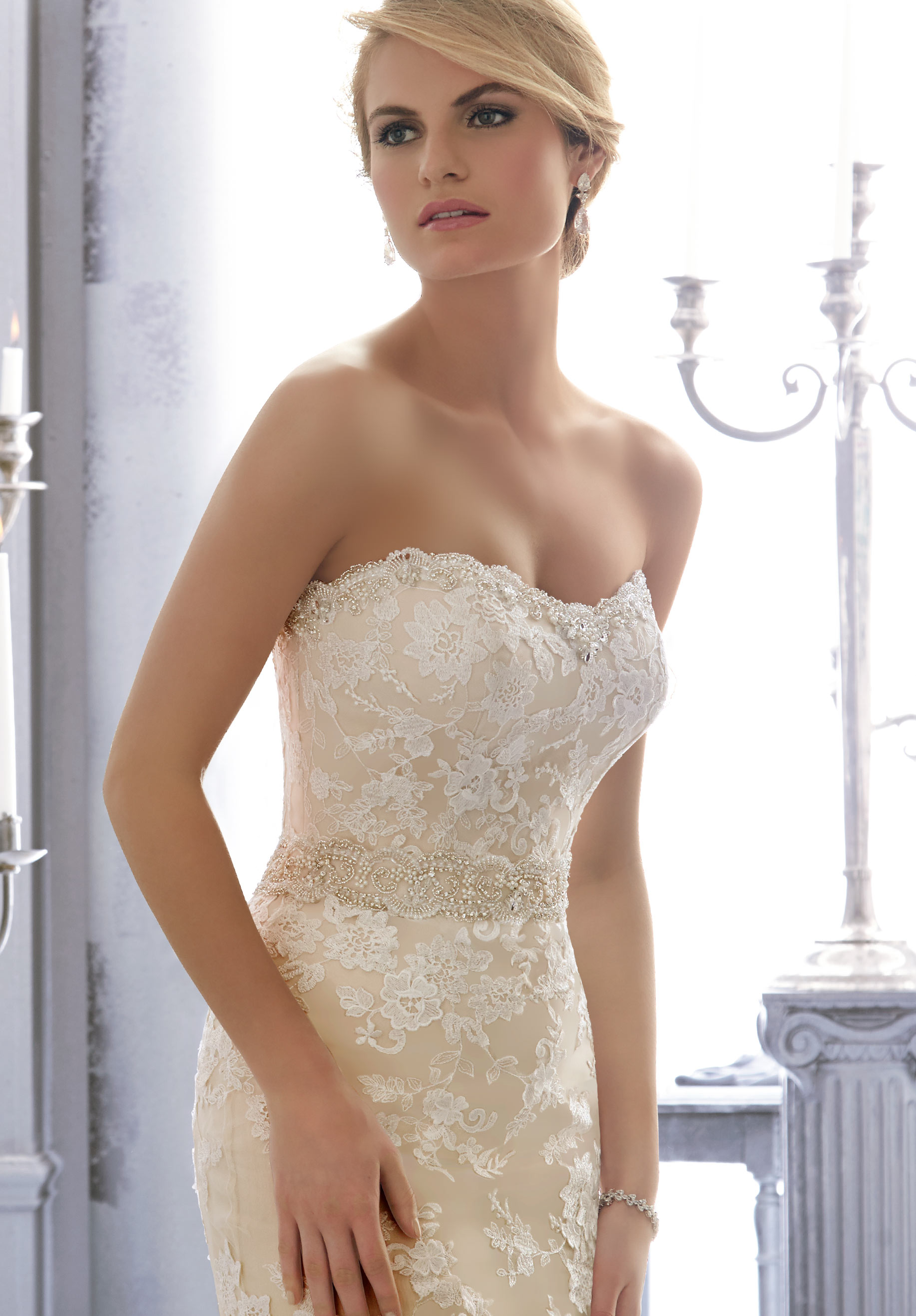 Mori Lee 11061 Wedding Dress Sash  MadameBridalcom