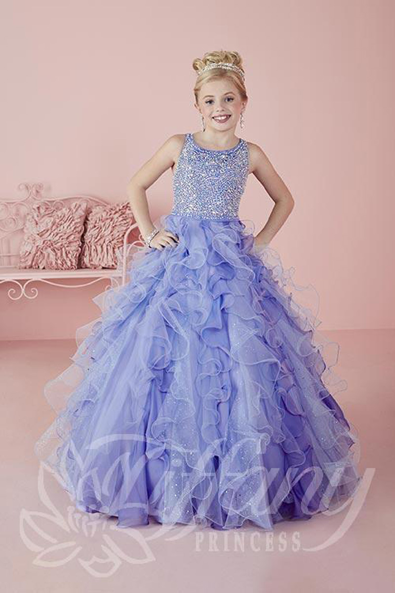Tiffany Princess 13474 Pageant Dress  MadameBridalcom