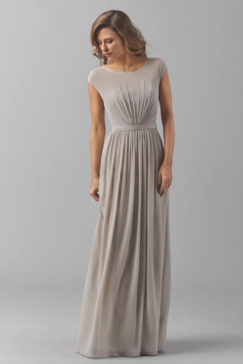 Watters 8548i Emily Bridesmaid Dress  MadameBridalcom