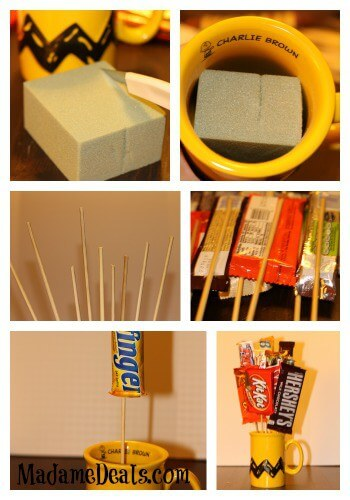 Fathers Day Gifts Ideas Make Your Own Candy Bouquets