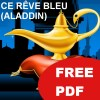 Image for Ce Rêve Bleu (Aladdin) for free cheat sheet set pdf FSV #4