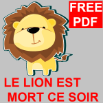 Le Lion Est Mort Ce Soir free pdf
