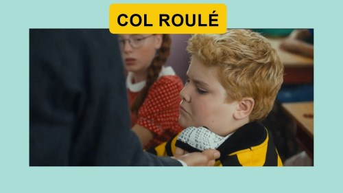Pic for word COL ROULÉ