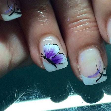 Nail Butterfly Nails Angel