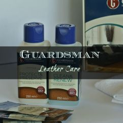 What Can I Use To Clean My Black Leather Sofa Sitting Room Designs Guardsman Care Madame Gourmand Lifestylemadame