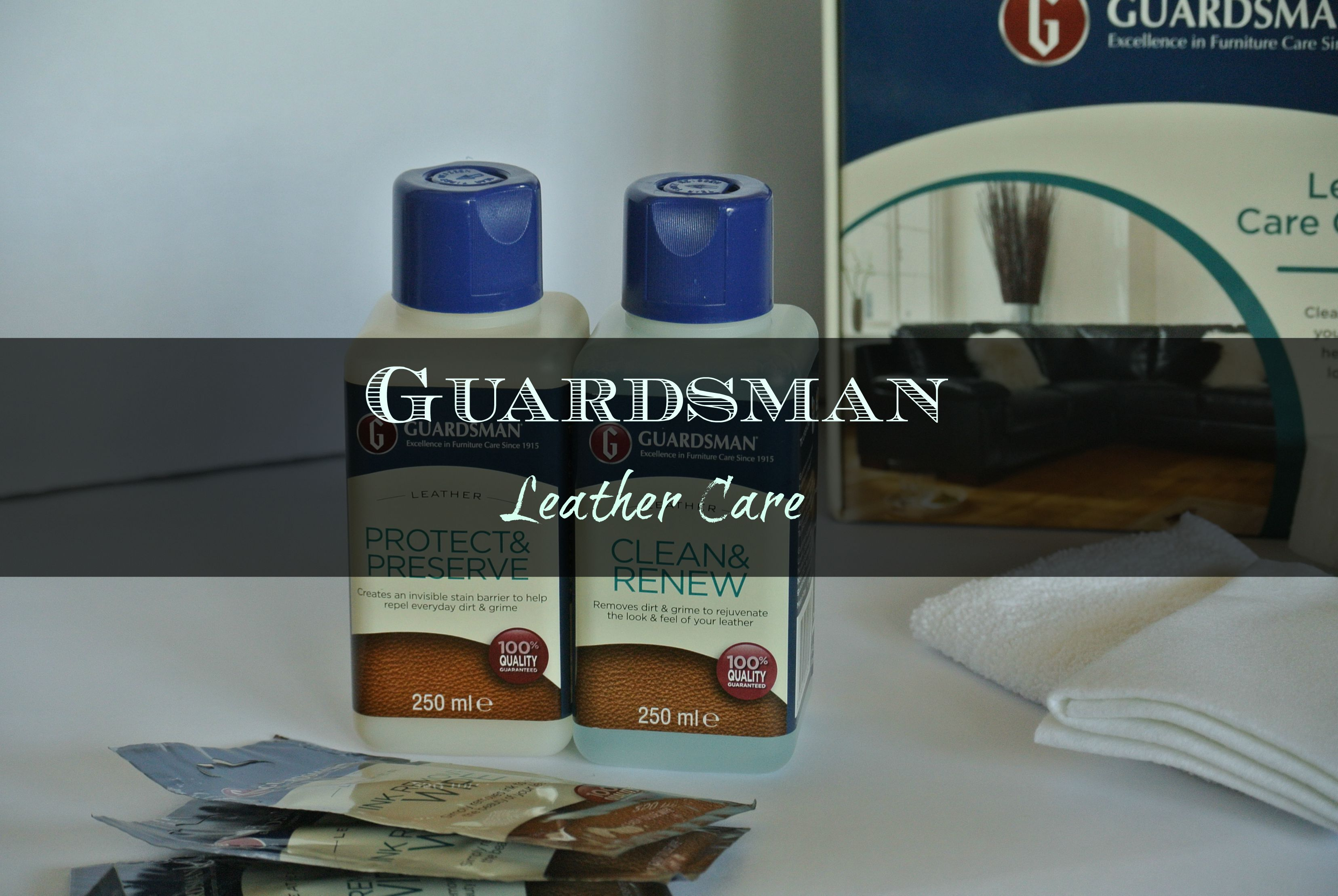 leather sofa cleaning kit bunk bed price guardsman care madame gourmand lifestylemadame