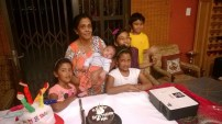 Amma and the kids