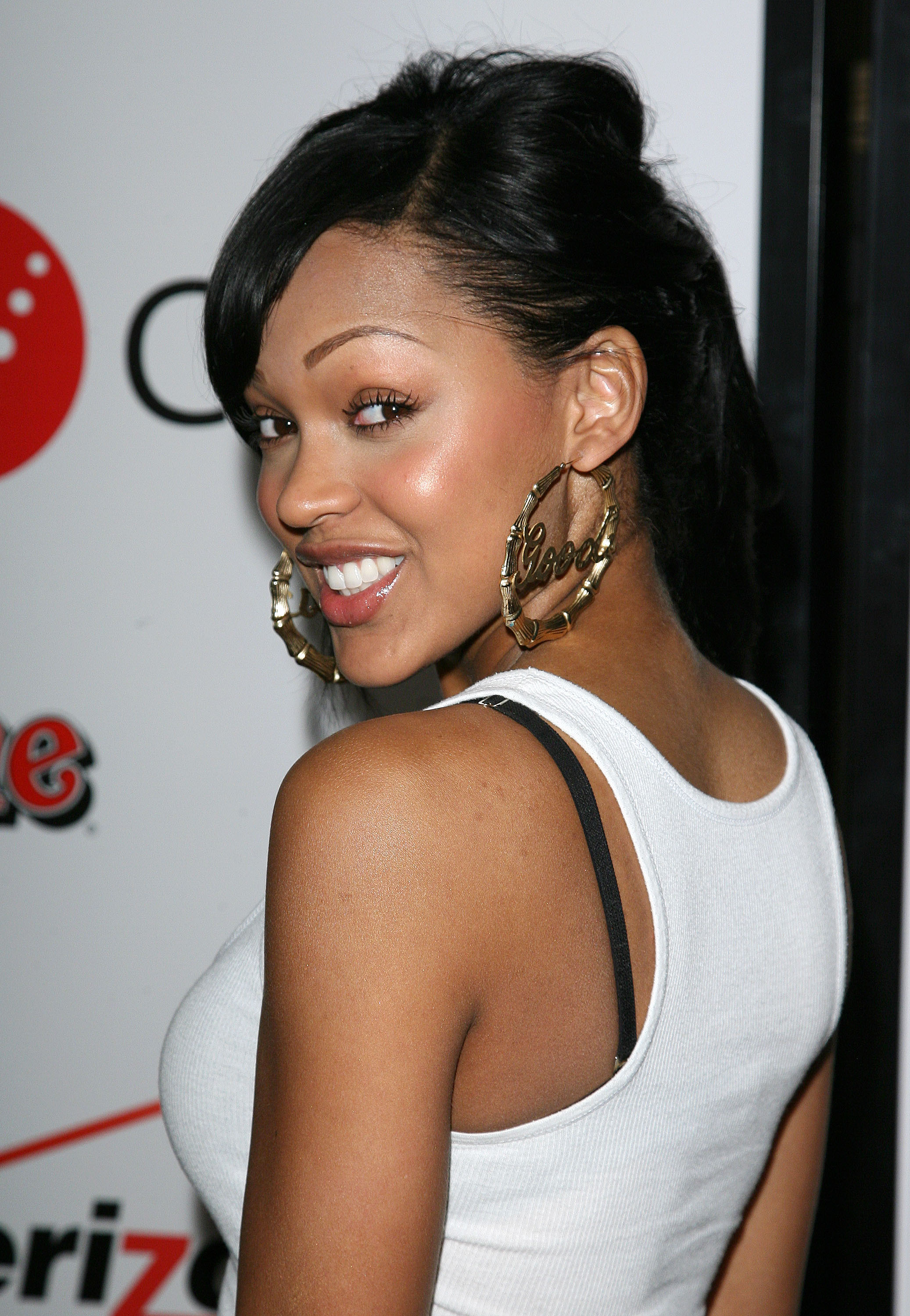 "Meagan Good Tattoo : meagan, tattoo, Meagan, Good's, ""Eyebrow, Journey"", Years, MadameNoire"