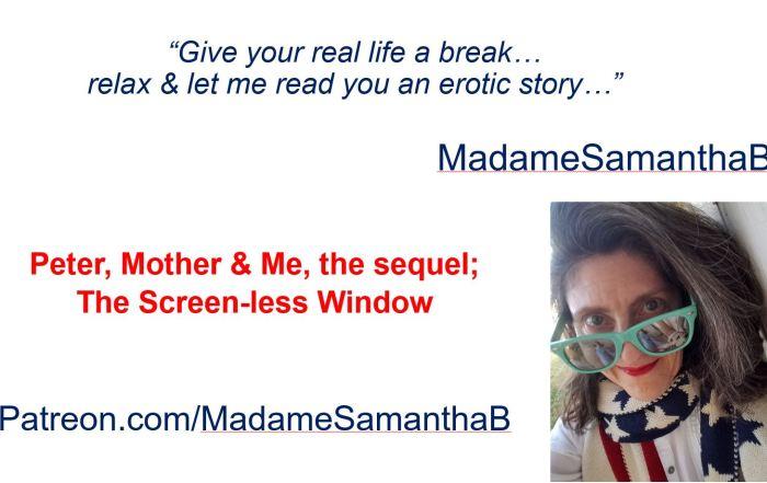 MadameSamanthaB, MadameSamanthaB reads, MadameSamanthaB spanks,