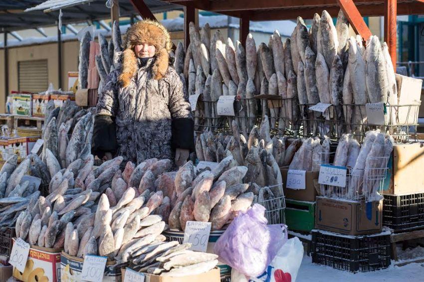 Marie de la Ville Bauge Russia Winter