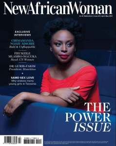 Chimamanda Ngozi Adichie author of We Should All We Feminists