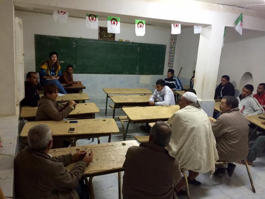 Assia Benziane Ecole Algerie ELLE Fondation
