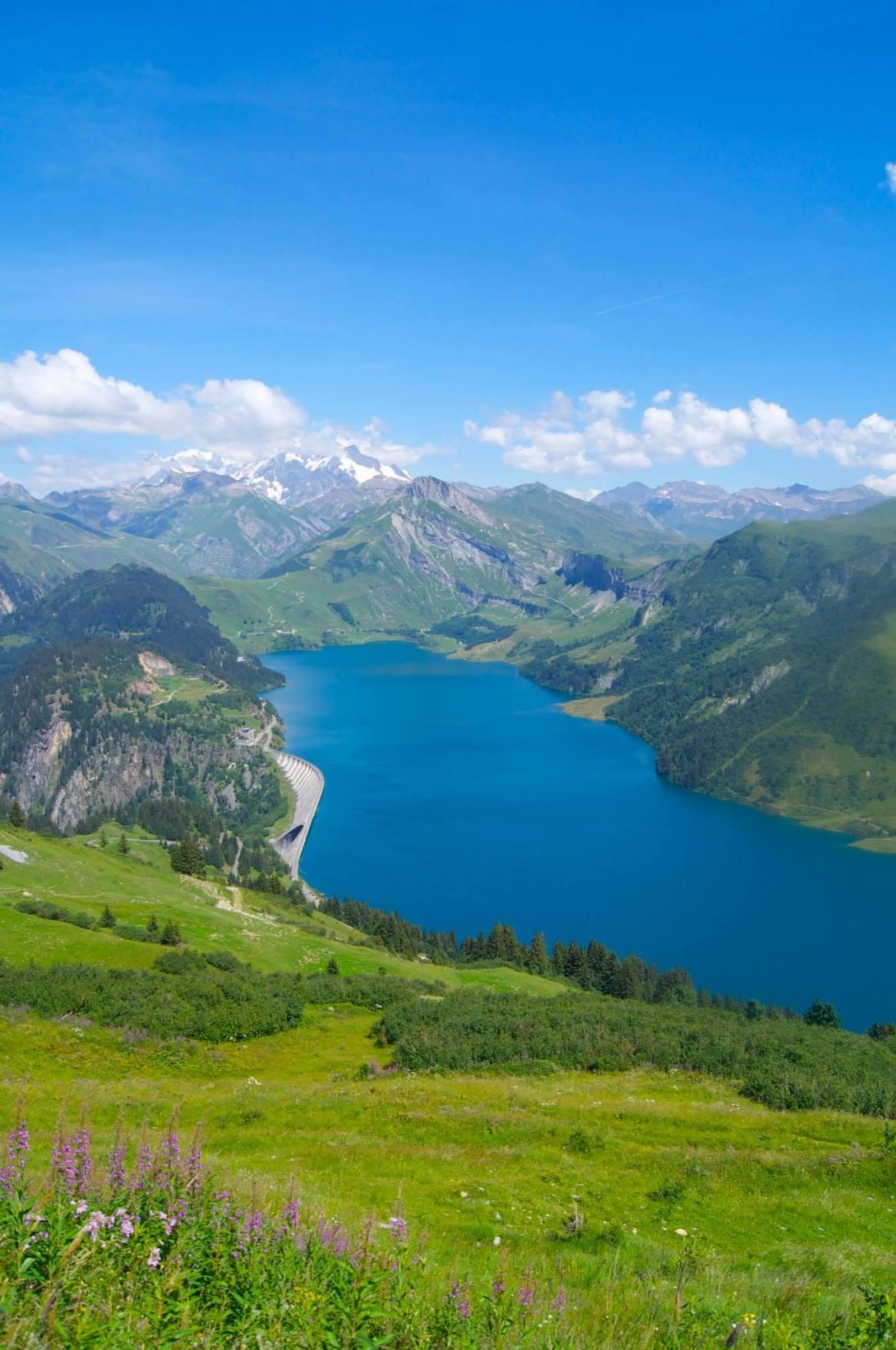 Rhône Alpes, Lac de Roselend