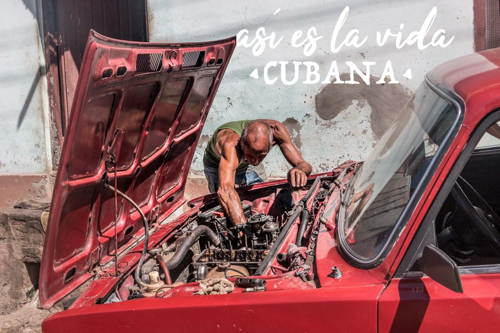 Blog Madame Voyage à Cuba, Trinidad, Portrait d un cubain et sa lada