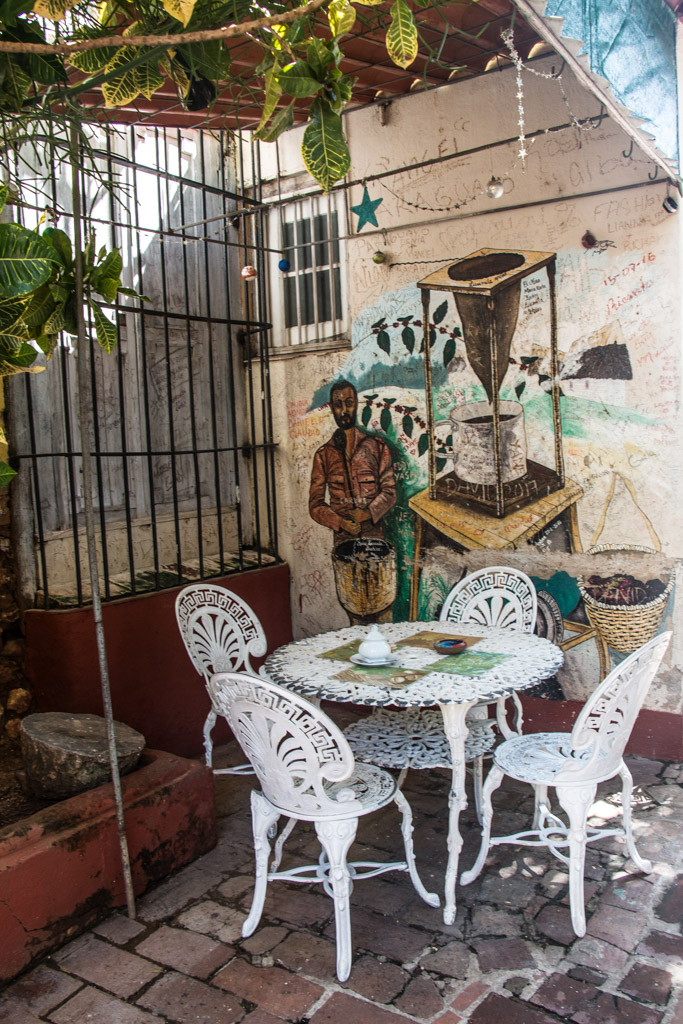 Blog Madame Voyage à Cuba, Trinidad au Cafe Don Pepe