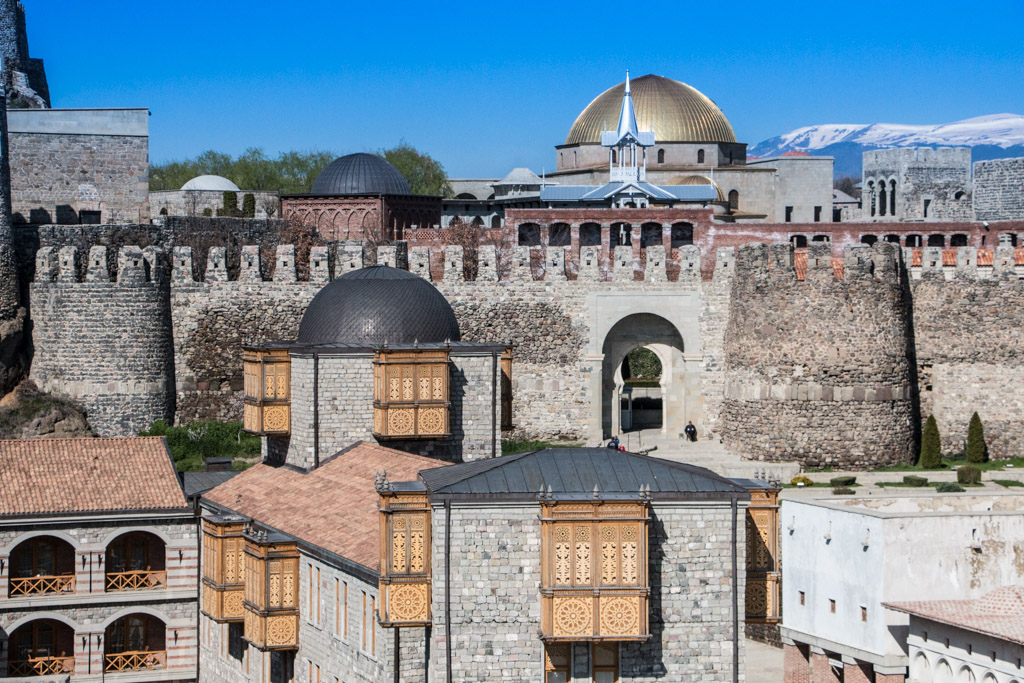 La forteresse de rabati (rabati castle fortress) akhaltsikhe en géorgie