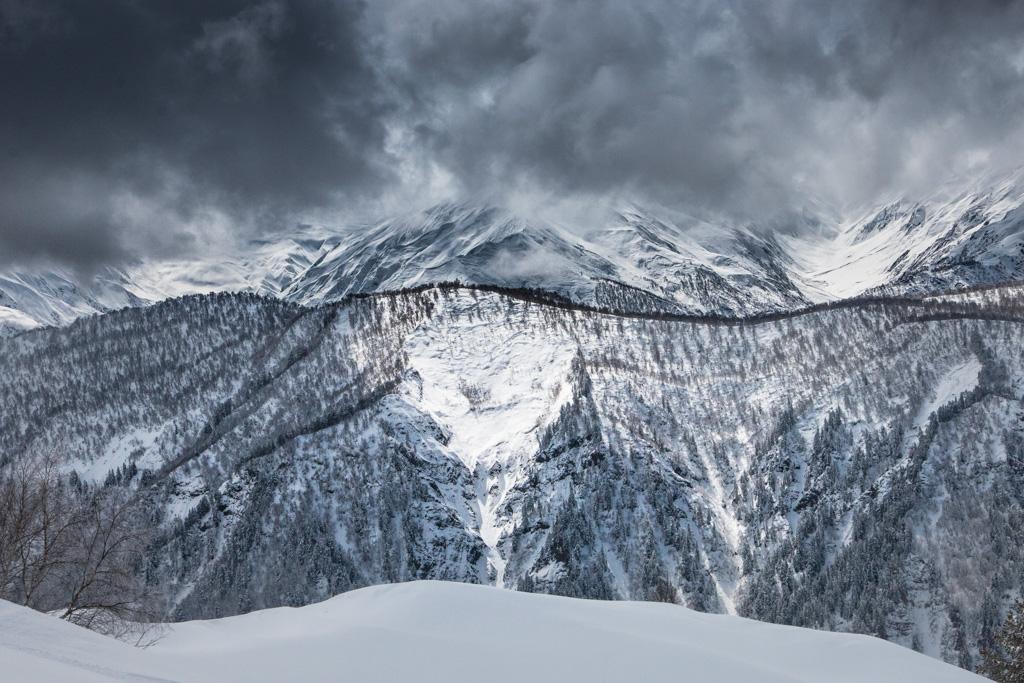 Madame Voyage en Géorgie Tetnuldi ski resort