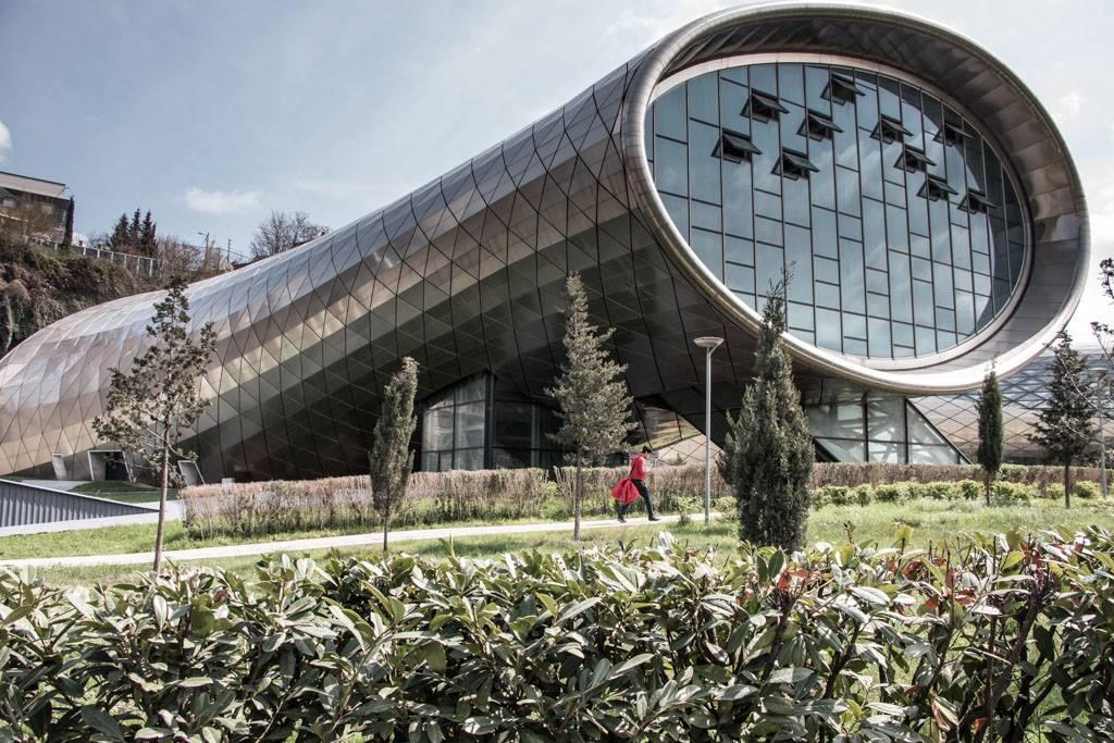 Théâtre Moderne, Rike Park, Tbilissi, Géorgie