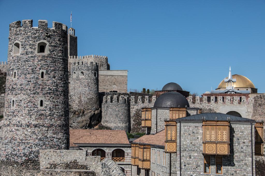 L'intérieur de la forteresse de rabati (rabati fortress) a AKHALTSIKHE en géorgie
