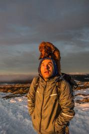 Michael et Iago au sommet du Hohneck avec Madame Voyage Blog Marion Prigent