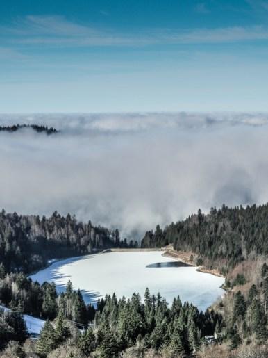 le lac de La Lande • 1060m d'Alt.