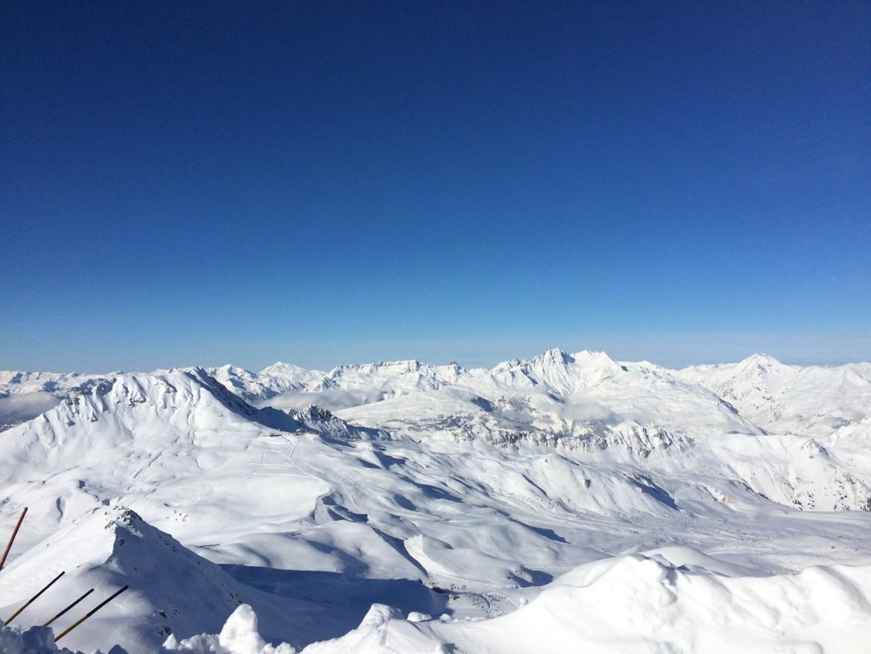 6 raisons d'aller skier dans la station de ski de la plagne
