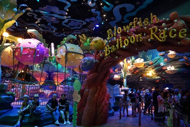 Mermaid Lagoon -- mainan anak kecil, adem dan antrian lebih manusiawi