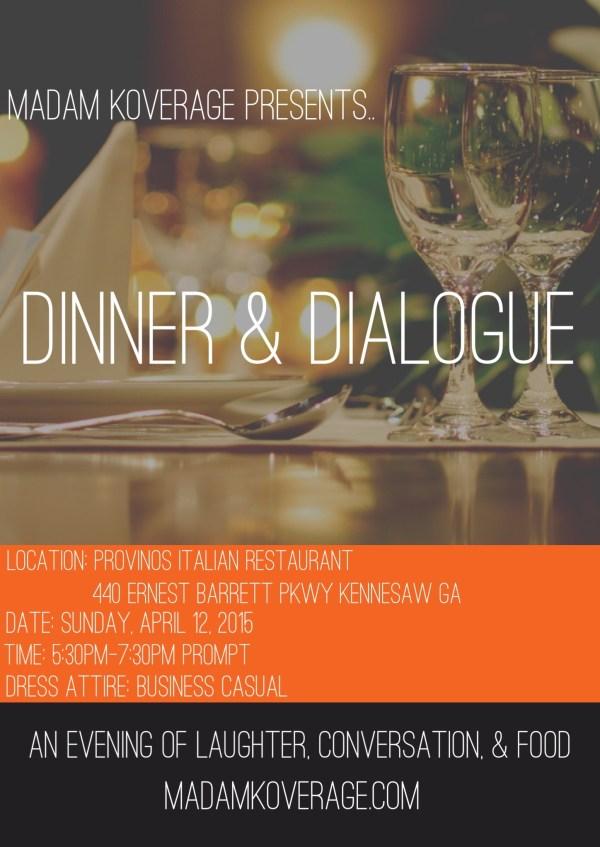 Madam Koverage Presents Dinner & Dialogue