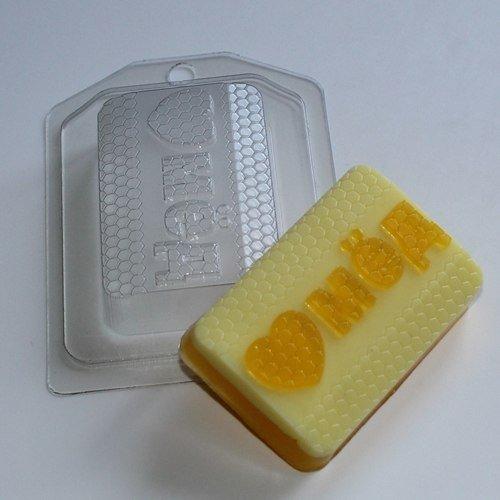 Пластиковая форма Люблю мёд
