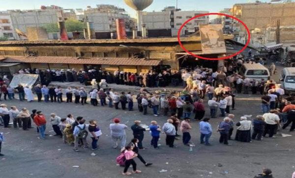 دمشق مواقع التواصل 1 600x362 - بعد أقفاص تنظيم دور الخبز .. الأسد يرفع سعره ويضيف ثمناً إضافياً للكيس -