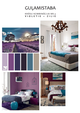 "Young couple selected color scheme ""violet + turquoise"""