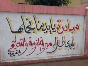 """طلاب الغربية : بلدنا وبنحبها  """"بإيدينا نجملها"""""""